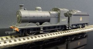 31-321DS GCR Robinson J11 64377 BR Black (Early Emblem) – Weathered